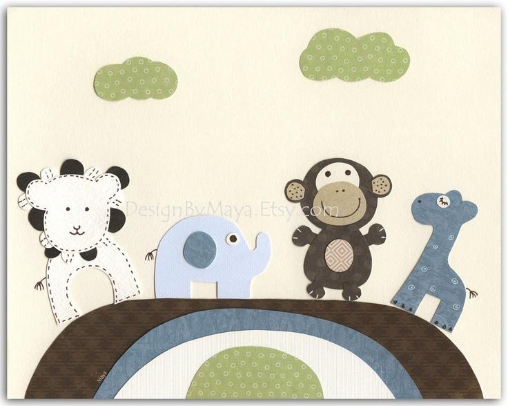 Baby Nursery, Nursery Decor, Children Room Art, baby zebra, baby room art print, Levi nursery bedding set,, black white and aqua. via Etsy.
