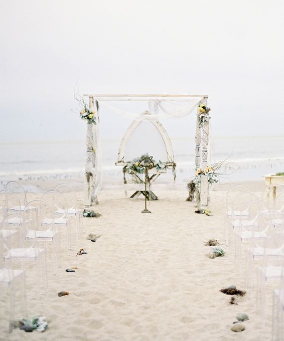 Beach Wedding Altar Decorations: 1000+ Images About Flowers: Arches And Chuppa's On