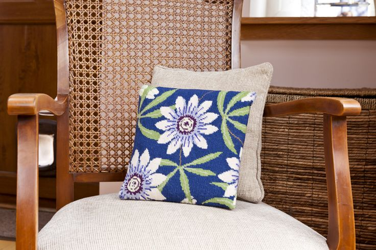 Passion Flower Herb Pillow by Cleopatra's Needle