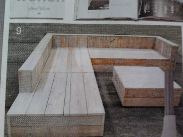 loungeset steigerhout