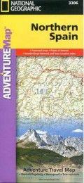 carte du nord de l'espagne