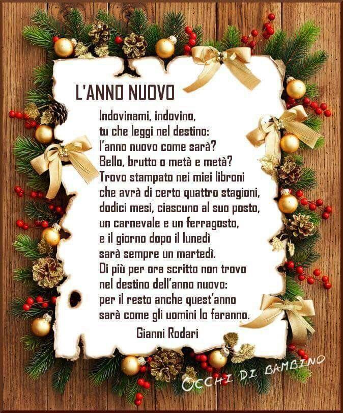 L'anno nuovo - Gianni Rodari