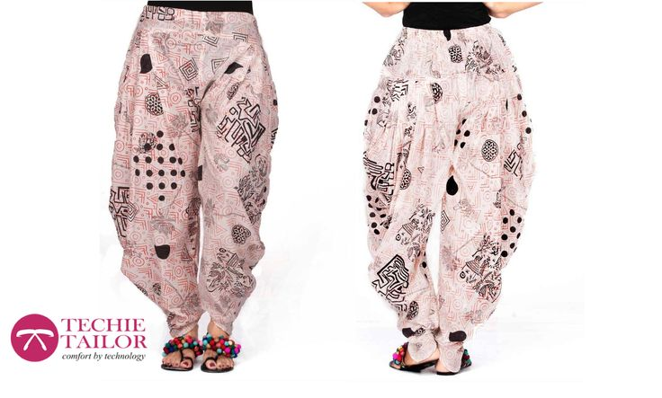 Did You Try Dhoti Bottom?......Experience The Latest Trends In Bottoms On Techie Tailor......For More Designs Visit www.techietailor.com Or call 080 3298 3232