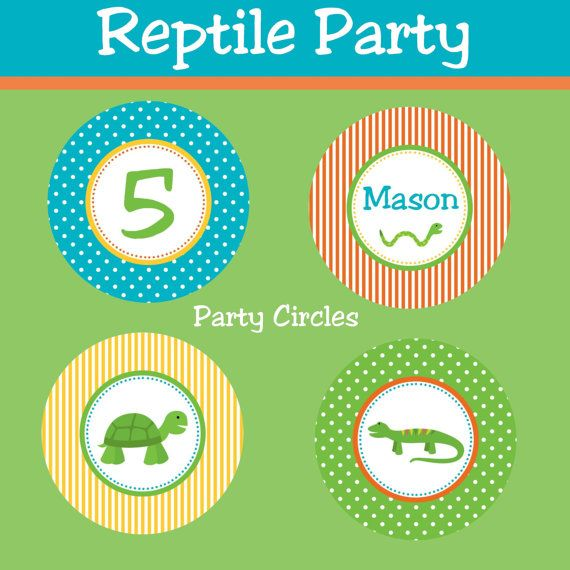 18 Best Snake/Reptile Birthday Party Images On Pinterest