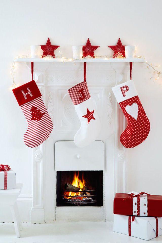 Red and White Monogram  - HouseBeautiful.com