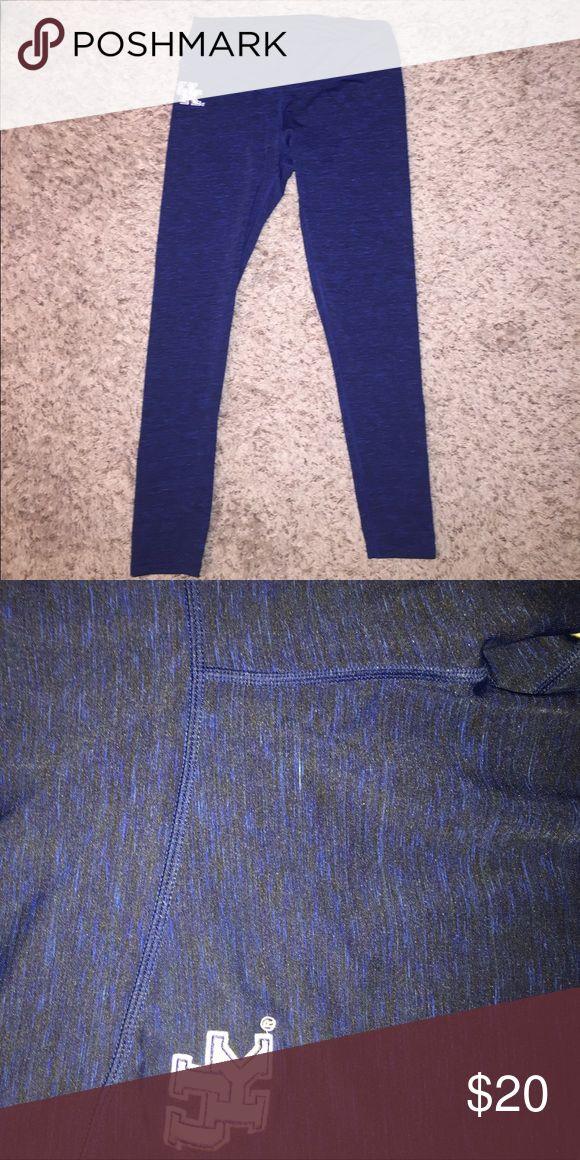 University of Kentucky, UK logo yoga legging UK yoga legging, never worn, blue/black, size large Pants Leggings