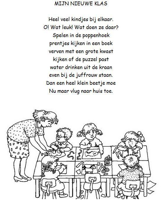 versjes afscheid kleuterschool jules - Google zoeken