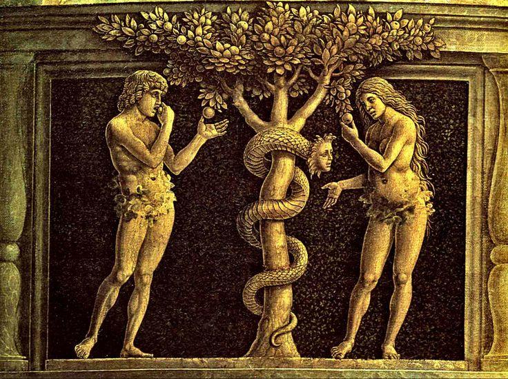 La fruta prohibida - Andrea Mantegna