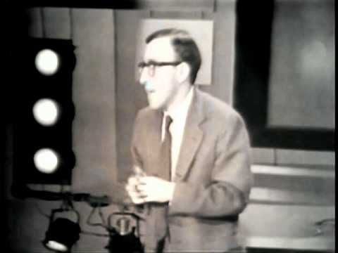 An early Woody Allen performance on the Jack Paar Show.  Airdate: Dec 14, 1962  Available through Time-Life video