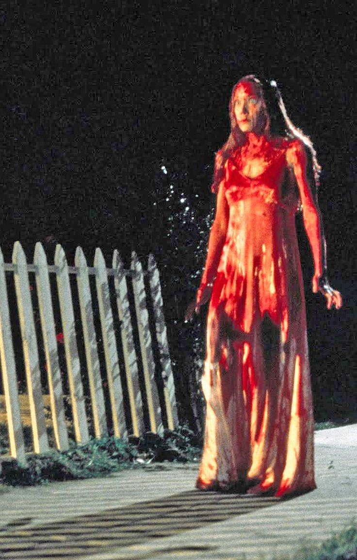 Sissy Spacek..the original Carrie film