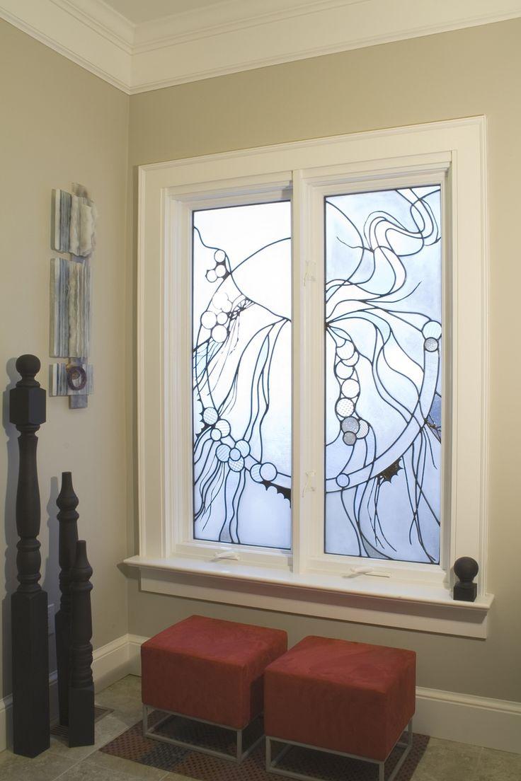 Custom Made Entry Leaded-Glass Windows