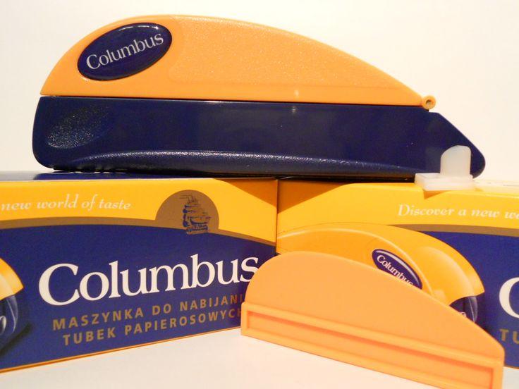 Aparat de injectat tutun Columbus - este un aparat manual pentru injectat tutun in tuburi tigari; culoare injector: albastru cu portocaliu; se foloseste pentru tuburi tigari de lungime standard. Pentru comenzi si alte detalii: www.tuburipentrutigari.ro