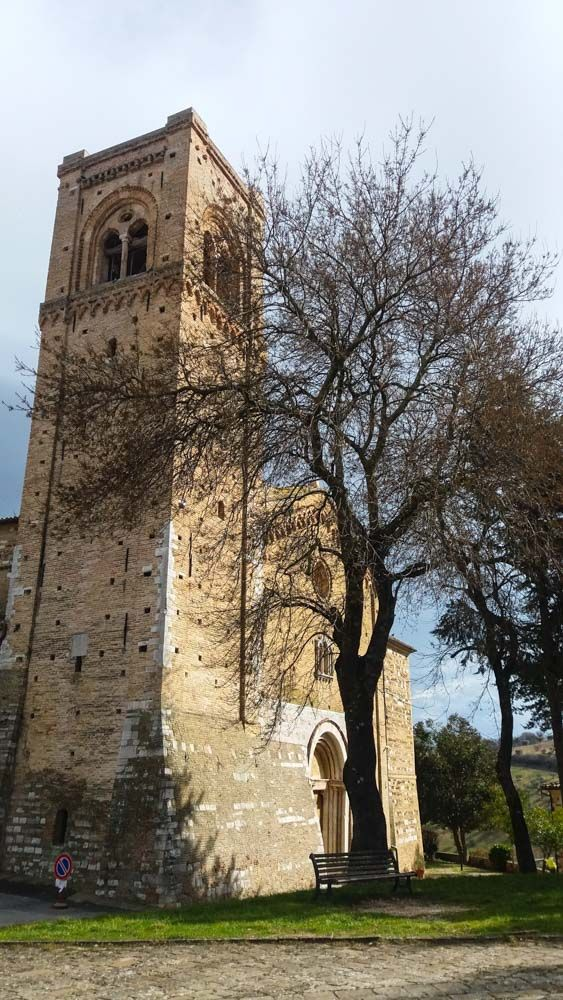 Duomo VEcchio #Sanseverino #Marche foto William Tallevi