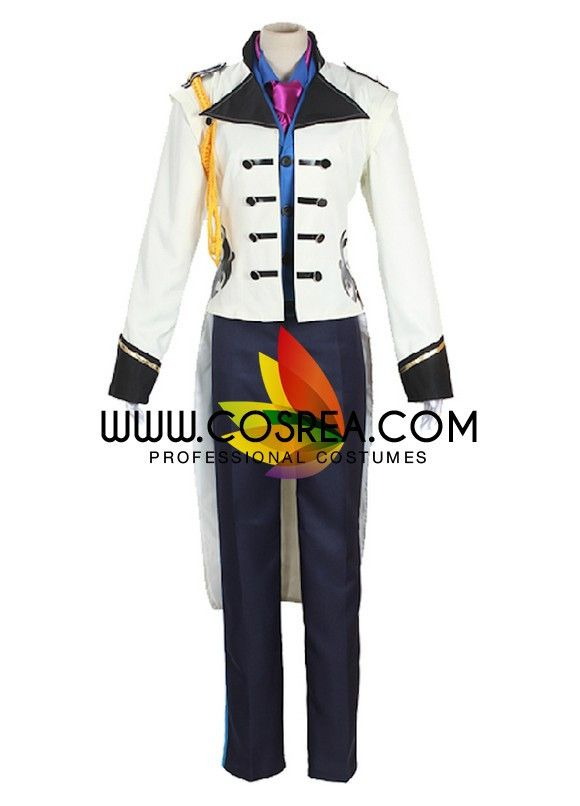 Costume Detail Frozen Prince Hans Cosplay Costume Includes - Inner Top, Tie, Jacket, Pants Please see individual tabs for information including: -available sizes for this costume -available custom opt