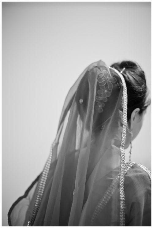 Bangladeshi Wedding Reception // lily glass photography // bridal veil