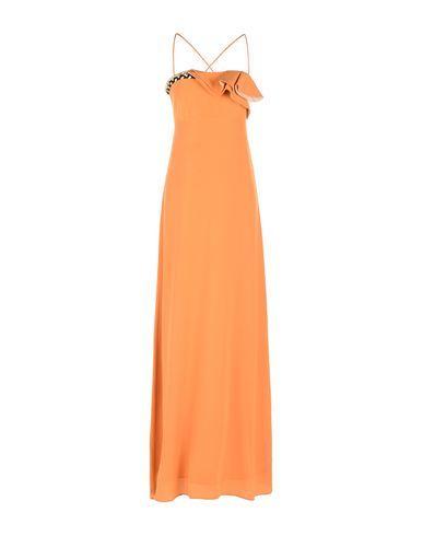 ATOS LOMBARDINI Women's Long dress Orange 6 US