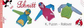 kostenlose schnittmuster  tutorial Raglan Pullover/Hoodie -Der Pulli kann mit weitem Rollkragen oder mit einer geräumigen Kapuze genäht werde - 98-146
