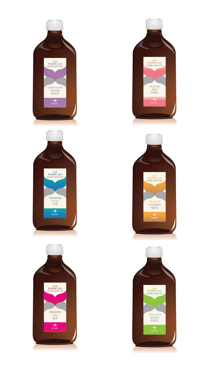 reed diffuser (sticker label)