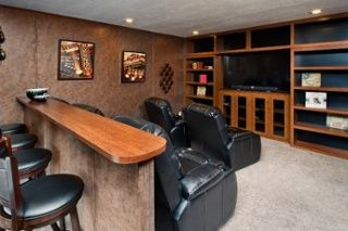 Add a Theater Room to Your Next Home! #theater #mancave #home #manufacturedhome