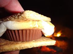 oooooh s'mores with a reeses!