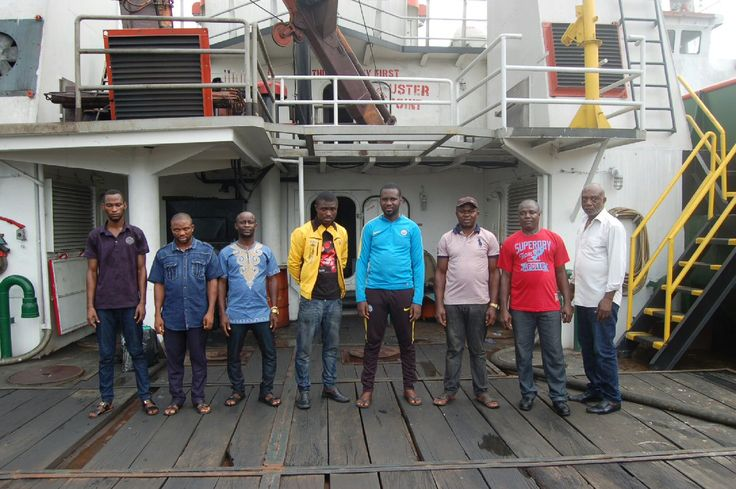 News In Pictures: See The Faces Of Oil Thieves Caught By The Nigerian Navy