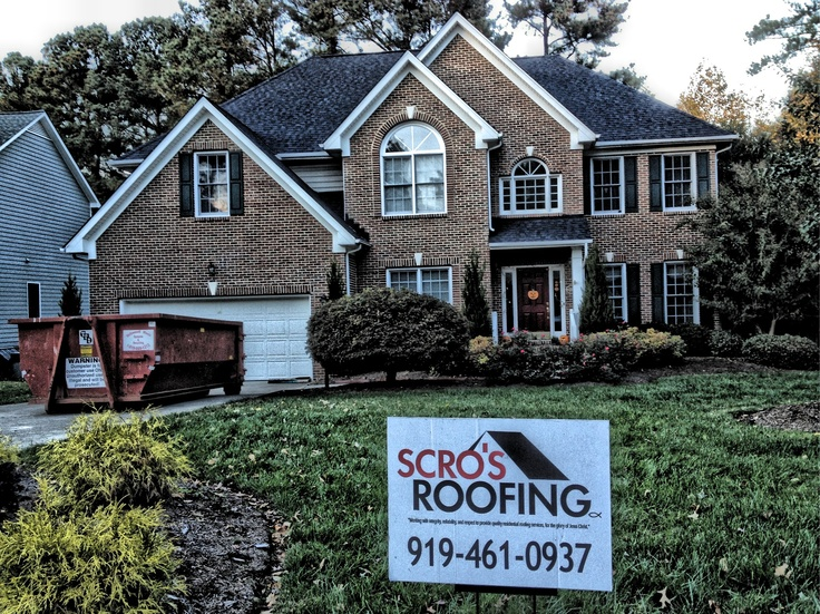 New Roof In Cary Certainteed Landmark Color Charcoal