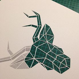 Graphic Design | Bespoke Wedding Stationery | Paper Cutting | Getting ready for Christmas...!