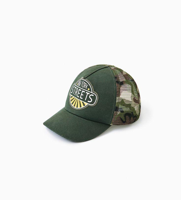 CAMOUFLAGE MESH CAP