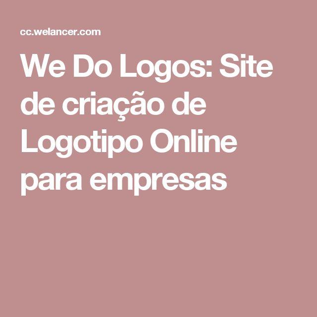 We Do Logos: Site de criação de Logotipo Online para empresas