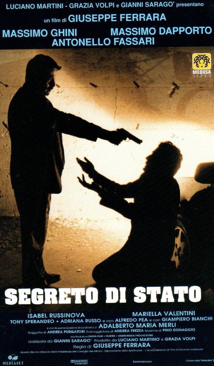 """Segreto di stato"" (1995); regia: Giuseppe Ferrara. Titolo francese: ""Secret d'état"""