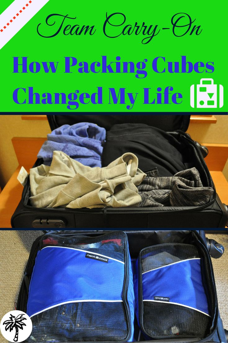 Find out how this simple travel hack of using packing cubes to organize my suitcase changed my life.. TheThirstyTourist.com