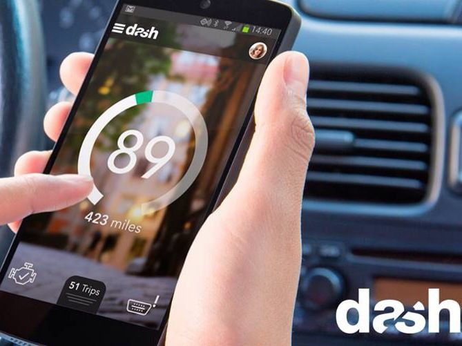 """Dash's Smart Driving App – A """"Fitbit For Cars"""" – Arrives On Android   TechCrunch"""