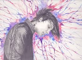 Omggg! Frank Iero watercolor that is AWESOMMEE