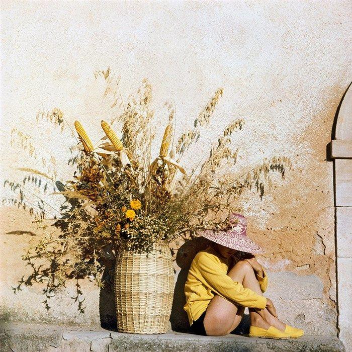 Jacques Henri Lartigue took a mean colour photograph: http://www.anothermag.com/art-photography/8286/the-life-and-loves-of-jacques-henri-lartigue