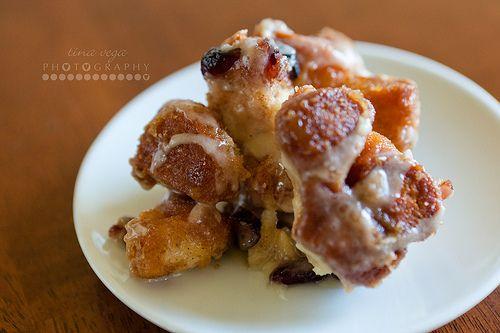 super yummy Cranberry-Eggnog Monkey Bread recipe