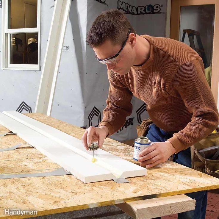 Tips for Working with PVC Trim Pvc trim, Trim carpentry