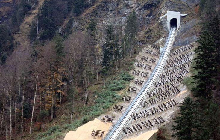 steepest funicular railway stoos switzerland