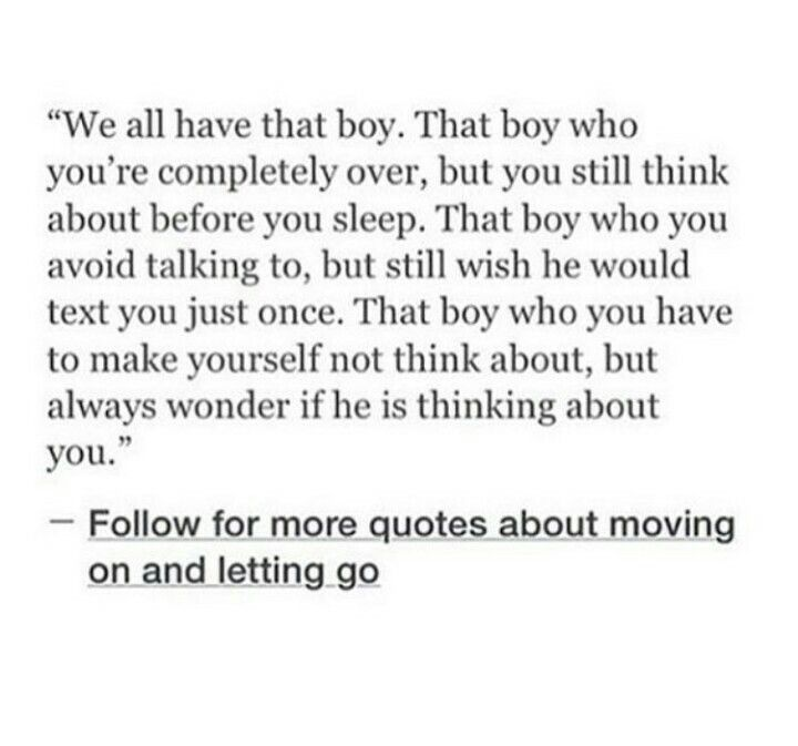 We all have that boy.....