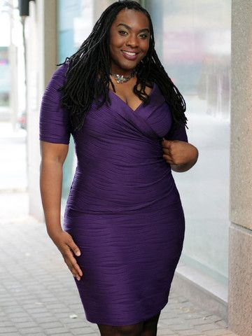 Joseph Ribkoff Plus Size Purple Wave Dress – SexyPlus Clothing