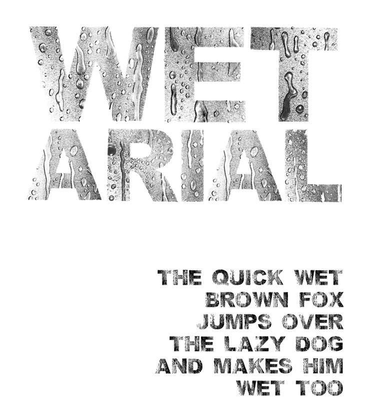 wet arial