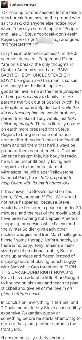 This was the best thing I've ever read.