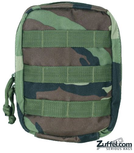Voodoo Tactical - E.M.T Pouch - Woodland Camo - Check out our collection of MOLLE Gear, MOLLE Pouches, Velcro Pouches, Tactical Pouches, MOLLE Tactical Gear, Modular Pouches, Modular MOLLE Pouches, Modular MOLLE Velcro Pouches, First Aid Pouches, Medical MOLLE Pouches, Molle Gadget Pouch, EMT Pouch, First Aid MOLLE pouches, M.O.L.L.E Compatible Gear, Airsoft MOLLE Pouches, Hydration Pouches, Munitions Pouches, Rip-away Pouches, Modular Gear, Utility and Dedicated Pouches.