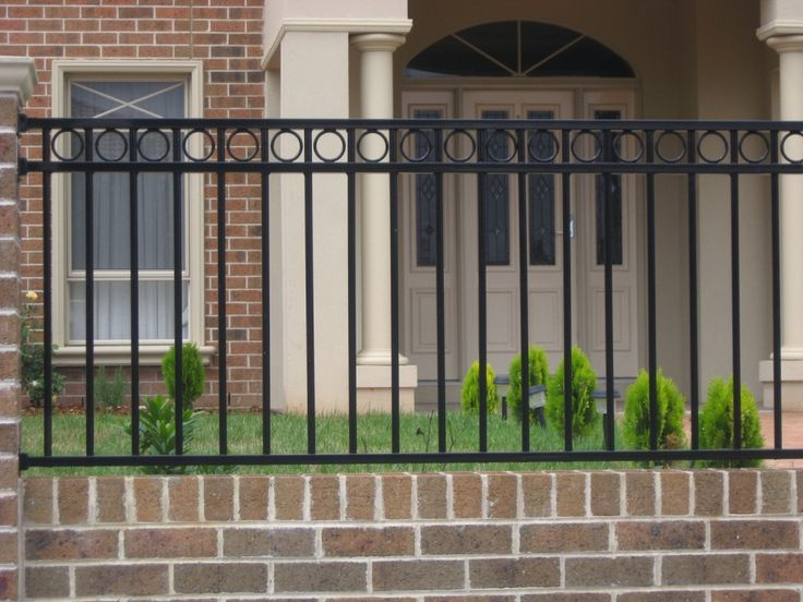 Front fences offer great looks, safety and security. Talk with Fence Factory as we can help you with all types of options for your front fence