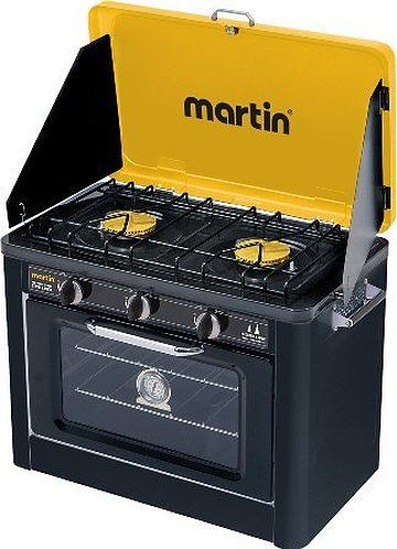 Campro by Martin Portable Propane Camping Stove and Oven Combo 14,600 BTU
