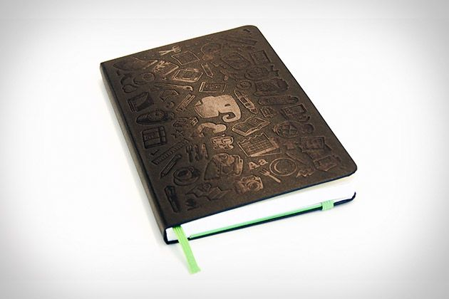 Evernote Moleskine Smart Notebook - take notes, then take a picture with your smart phone, and they become immediately recognizable