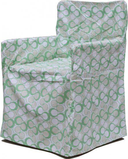 Neea Green Chair Cover