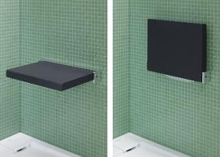 Rutschfester Duschsitz für ein bequemes, sicheres Sitzen beim Duschen