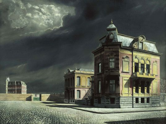 Carel Willink -Townscape, 1934