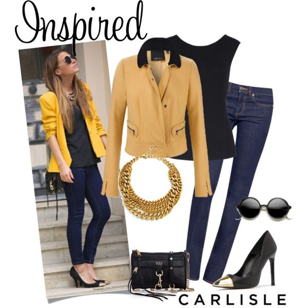 CHAMOIS maize gold jacket   Carlisle Fall Collection