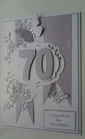 Image Result For Handmade 60th Birthday Cards Female